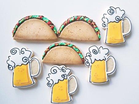 Tacos, Beer, Taco, Delicious, Culinary, Tortilla
