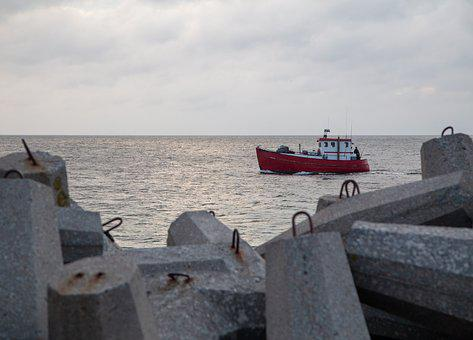 Ship, Boat, Harbour, Sea, Water, Maritime, Fishing