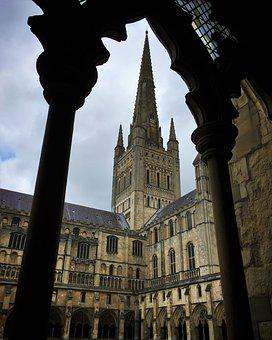 Norwich Cathedral, Cathedral, Gothic, Architecture