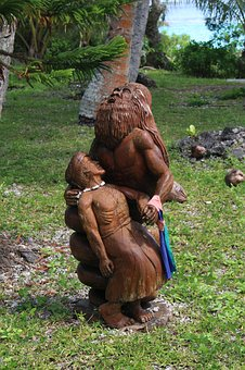Wood Carving, Wood, Artwork, Figure, Carving, Holzfigur