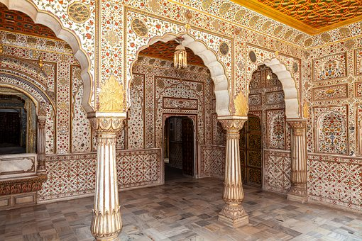 Bikaner, India, Palace, Architecture, Old, Building