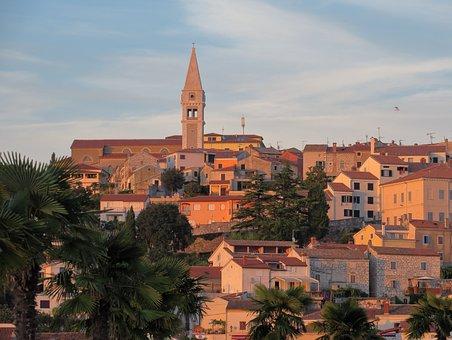 Vrsar, Croatia, Historic Center, Istria, Bell Tower