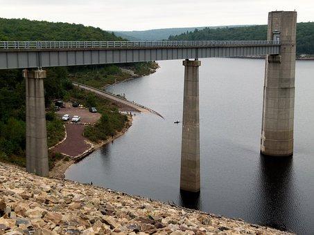 Lehigh River, Lehigh, River, Dam, Walter Dam