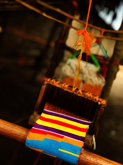 Kente, Loom, Tradition, Volta, Ghana, Weaving, Textile