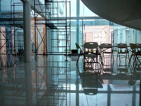 Museum, Architecture, Art, Door, Window, Light