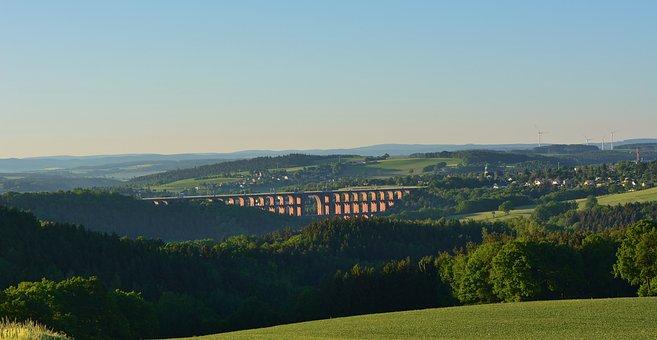 Vogtland, Viaduct, Architecture, Places Of Interest