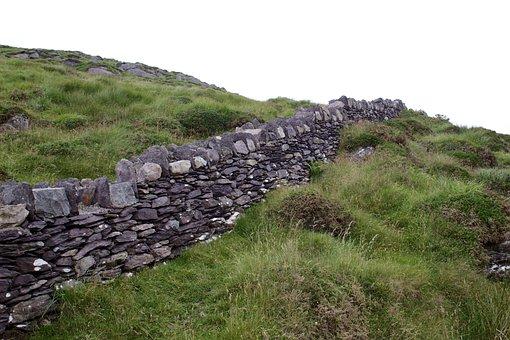 Rock Fence, Ireland, Fence