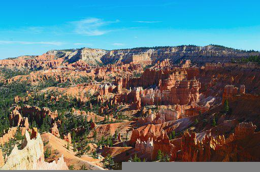 Bryce, Utah, Red, Formation, Landscape, Scenic, Canyon