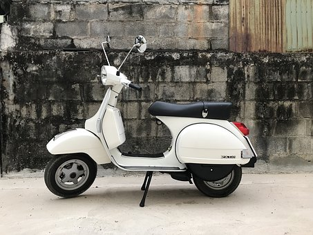 Vespa, Motorcycle, Scooter