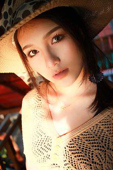 Sunset, Beautiful Woman, Vintage, Model, Summer, Girl