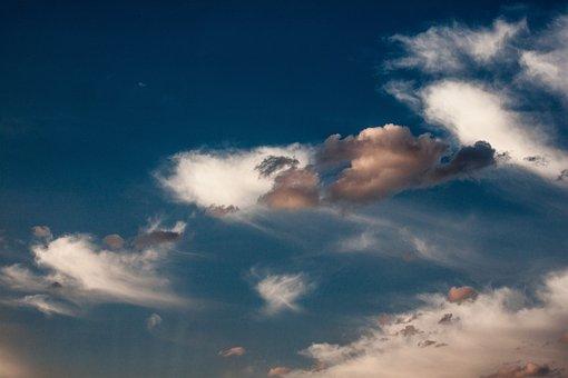 Sky, Clouds, Landscape, Nature, Sunset, Weather