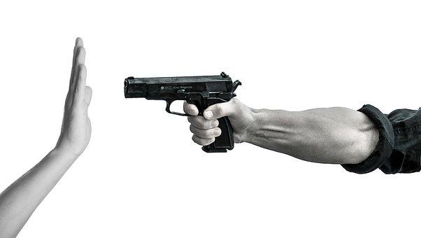 Gun, Control, Violence, Stop, Ban, Guns, Revolver