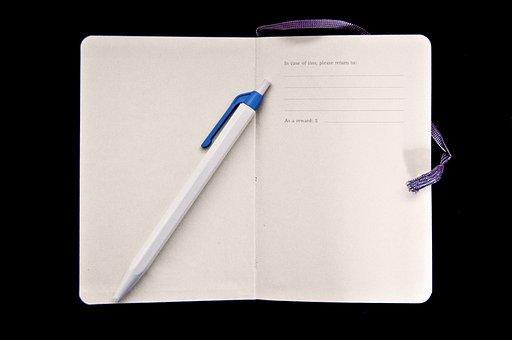Agenda, Pen, Finder's Fee, Notebook, Notes