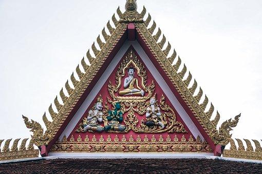 Asian, Buddha, Buddhism, Apex, Architecture, Art