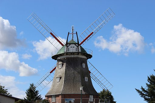 Windmill, Müller, Mill, Idyllic, Old, Architecture