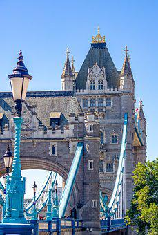 London, Tower Bridge, Bridge, England, Architecture
