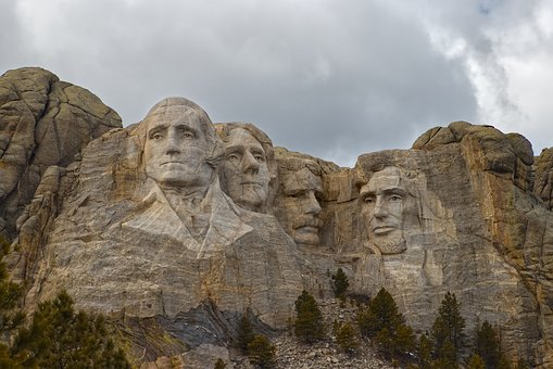 Mt, Rushmore, Presidents, Usa, America, Architecture