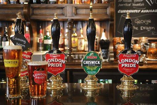 Beer, Pub, London, England, Bar