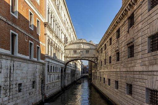 Venice, Bridge, Sighs
