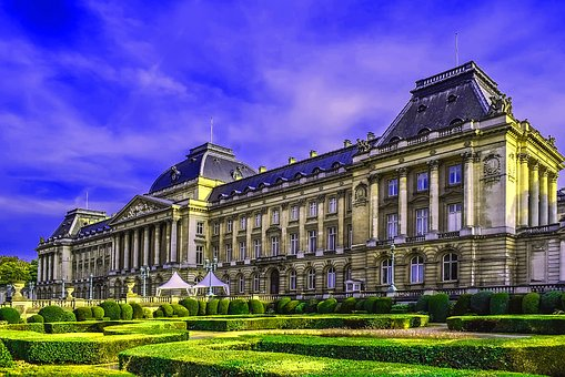 Palace, Royal Palace, Belgium, Brussels, Architecture
