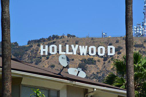 Usa, Hollywood, California, Shield