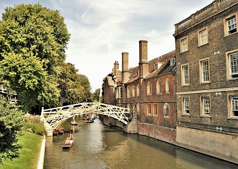 Cambridge, Cambridge University, Mathematical Bridge