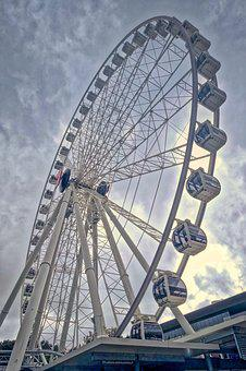 Ferris, Wheel, Attraction, Amusement, Ride, Carnival