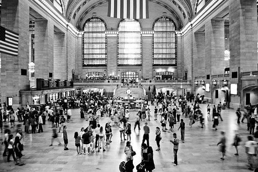 New York, Central Station, Station, Nyc, Architecture