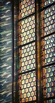 Church Window, Church, Glass, Stained Glass, Colorful
