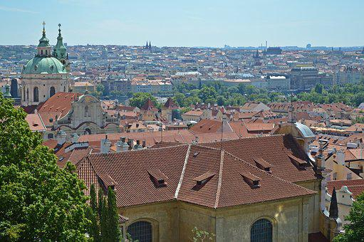 Prague, Panorama, Czech Republic, Intact, Architecture