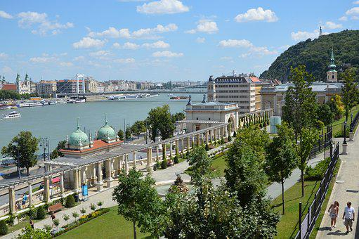 Budapest, Buda, Danube, Panorama, Cityscape, Hungary