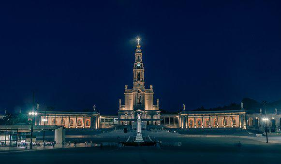 Fatima, Sanctuary, Portugal, Christ, Catholic, Monument