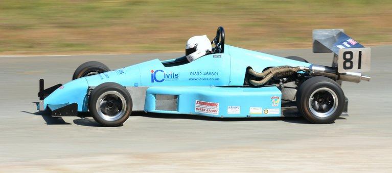Hillclimb, Car, Single Seater, Speed, Motorsport, Road