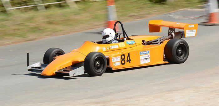 Hillclimb, Car, Single Seater, Speed, Motorsport, Road