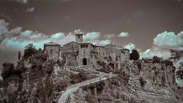 Civita Di Bagnoregio, Historian, Architecture, Torre