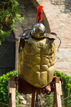 Breastplate, Headset, Knight, Armor, Knights, History