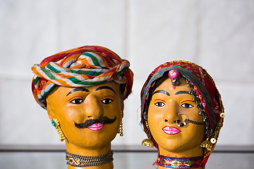 Handicraft, Doll, India, Rajasthan, Jaipur, Traditional