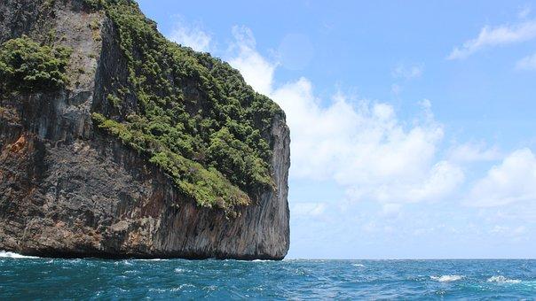 Krabi, Rocky Islands, Ocean, Nature, Scenery