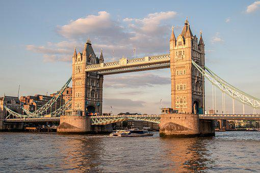London, Tower Bridge, England, Bridge, Architecture
