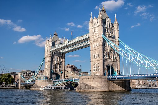 London, Tower Bridge, Bridge, Landmark, Architecture