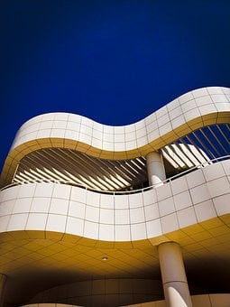 Getty Center, Los Angeles, California, Architecture