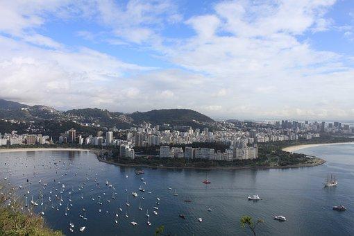 Brazil, Rio De Janeiro, Big City, Metropolis