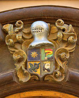 Old, Coat Of Arms, Heraldry, Medieval, Logo, Longares