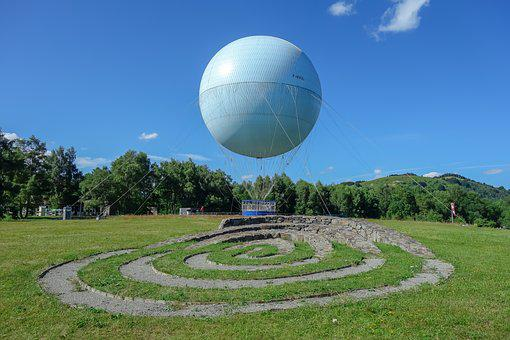 Vulcania, Park, France, Auvergne, Architecture