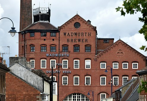 Building, Red Brick, Architecture, Brewery, Devizes