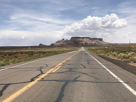 Highway, The Western United States, Road, Drive