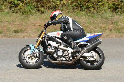 Hillclimb, Motorbike, Speed, Motorsport, Road, Racing