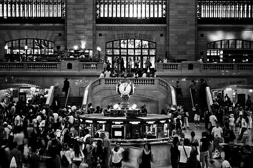 New York, Grand Central, Station, Nyc, Architecture