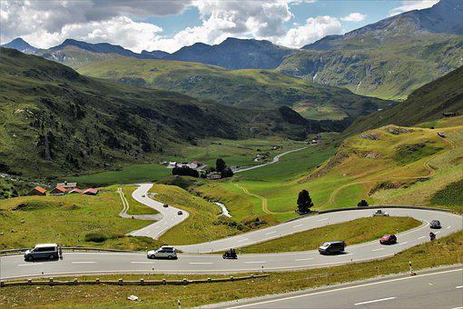 Julierpass, Streamers, Highway, The Height Of The