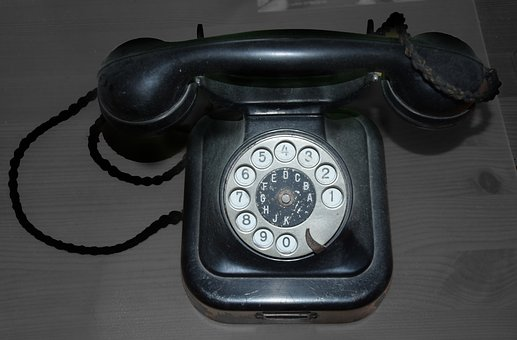 Phone, Dial, Old, Telephone Handset, Communication